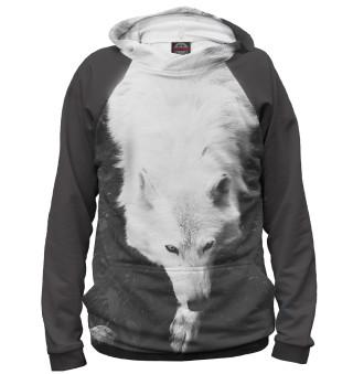 Худи женское Волки (8725)