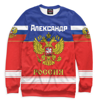 Одежда с принтом Хоккеист Александр