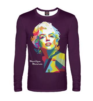 Лонгслив  мужской Marilyn Monroe
