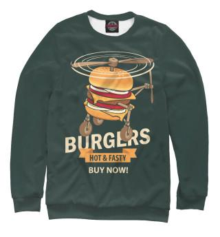 Одежда с принтом Burgers