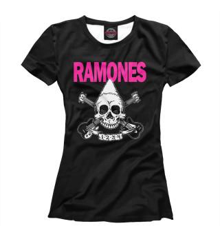 Футболка женская Ramones (7435)