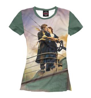 Футболка женская Титаник (7619)