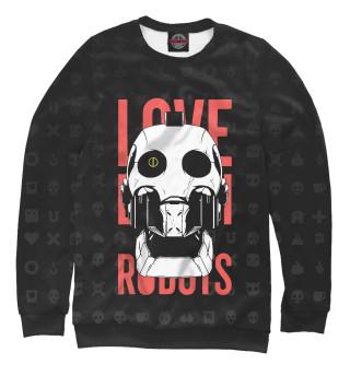 Одежда с принтом Любовь, смерть и роботы (916858)