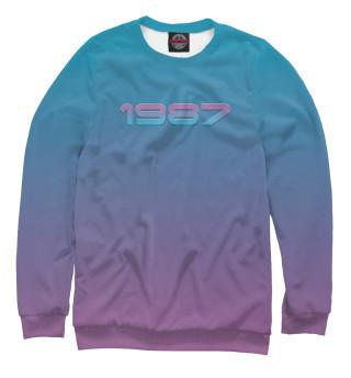 Одежда с принтом 1987 (822810)