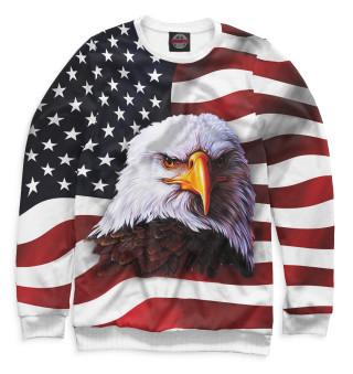 Одежда с принтом США
