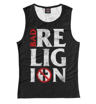 Майка женская Bad Religion (5957)