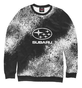 Одежда с принтом Subaru splatter