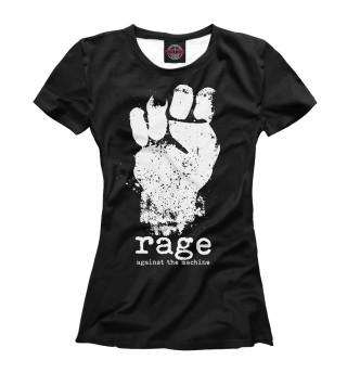 Футболка женская Rage Against the Machine (2775)