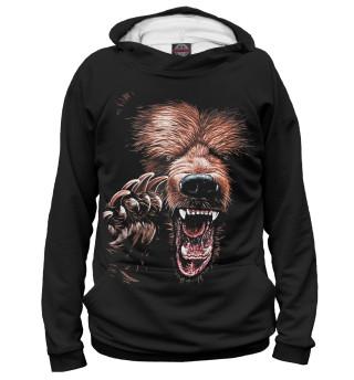 Худи женское Медведь (2155)