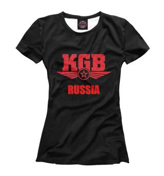 Футболка женская КГБ (8089)