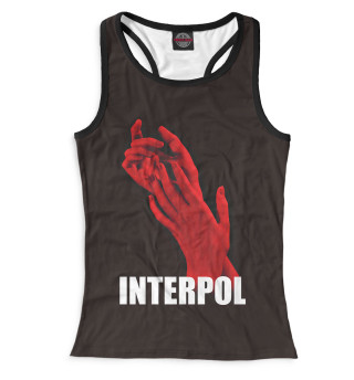 Майка борцовка женская Interpol (8186)