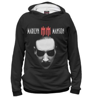 Худи женское Marilyn Manson (6666)