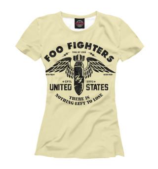 Футболка женская Foo Fighters (6210)