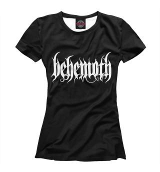 Футболка женская Behemoth (9618)