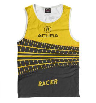 Майка мужская Acura racer