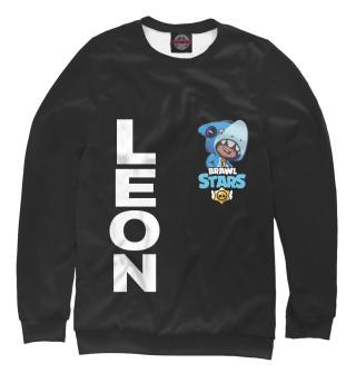 Одежда с принтом Brawl Stars LEON SHARK (732582)
