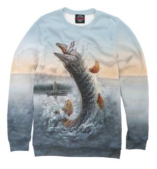 Одежда с принтом Fishing Boat