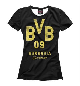 Футболка женская Боруссия Дортмунд (9859)
