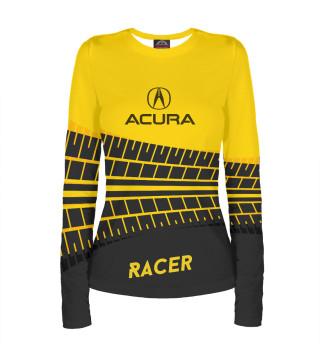 Лонгслив  женский Acura racer