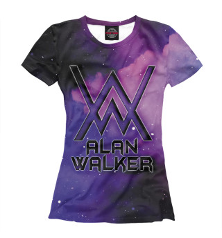 Футболка женская Alan Walker (7665)