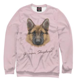 Одежда с принтом German Shepherd