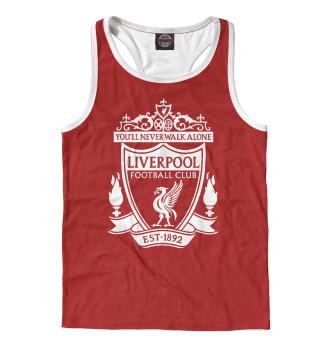 Майка борцовка мужская Liverpool FC Logo