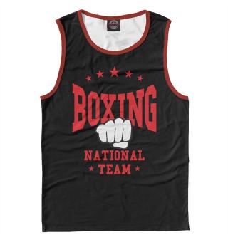 Майка мужская Boxing National Team