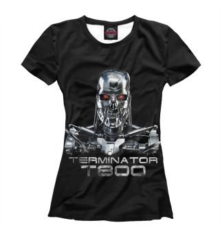 Футболка женская Терминатор - Т800