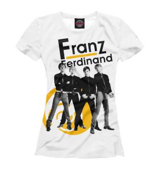 Футболка женская Franz Ferdinand (9278)