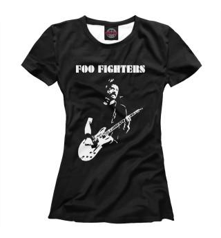 Футболка женская Foo Fighters (5286)