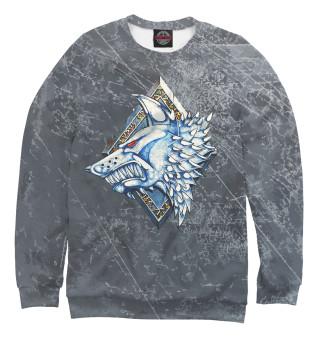 Одежда с принтом Космические волки
