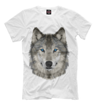 Футболка мужская Волк (9244)