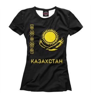 Футболка женская Солнечный Казахстан (8878)
