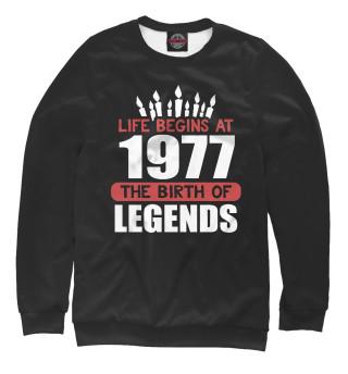 Одежда с принтом 1977 - рождение легенды