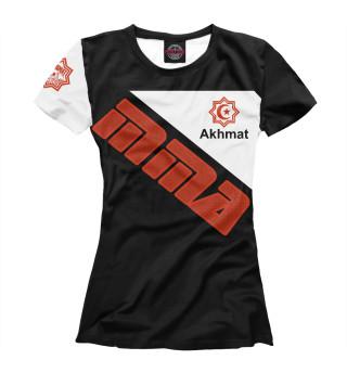 Футболка женская Akhmat Fight Club MMA