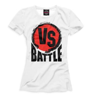 Футболка женская Versus Battle