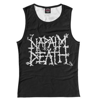 Майка женская Napalm Death