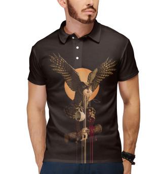 Поло мужское Twin Peaks Owl (25)