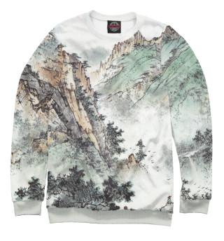 Одежда с принтом Горы Китая