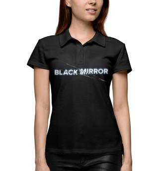 Поло женское Black Mirror (4561)