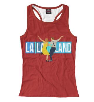 Майка борцовка женская La La Land (4836)