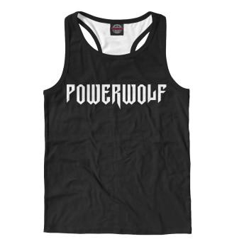Майка борцовка мужская Powerwolf (1081)