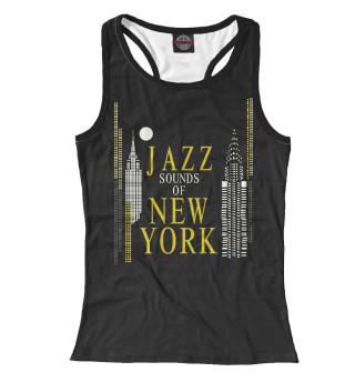 Майка борцовка женская Jazz New-York