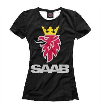 Футболка женская SAAB