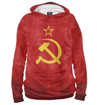 Худи женское Флаг СССР