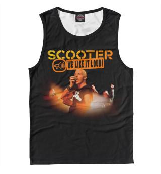 Майка мужская Scooter (3802)