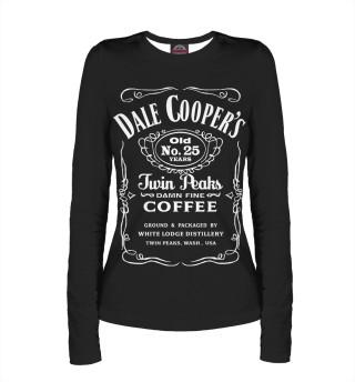 Лонгслив  женский Dale Cooper Whiskey