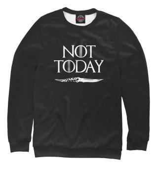 Одежда с принтом Not today (950869)