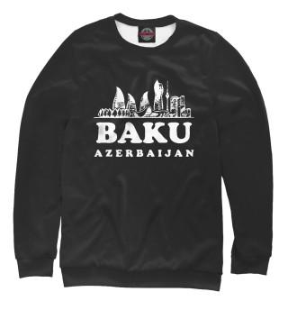 Одежда с принтом Азербайджан (899924)