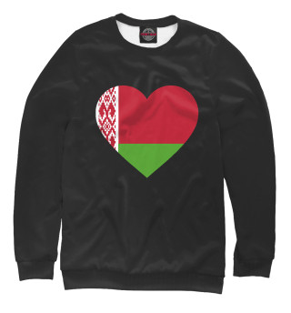 Одежда с принтом Belarus Heart